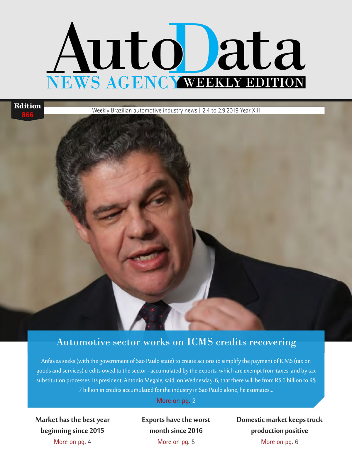 Capa revista Weekly Edition