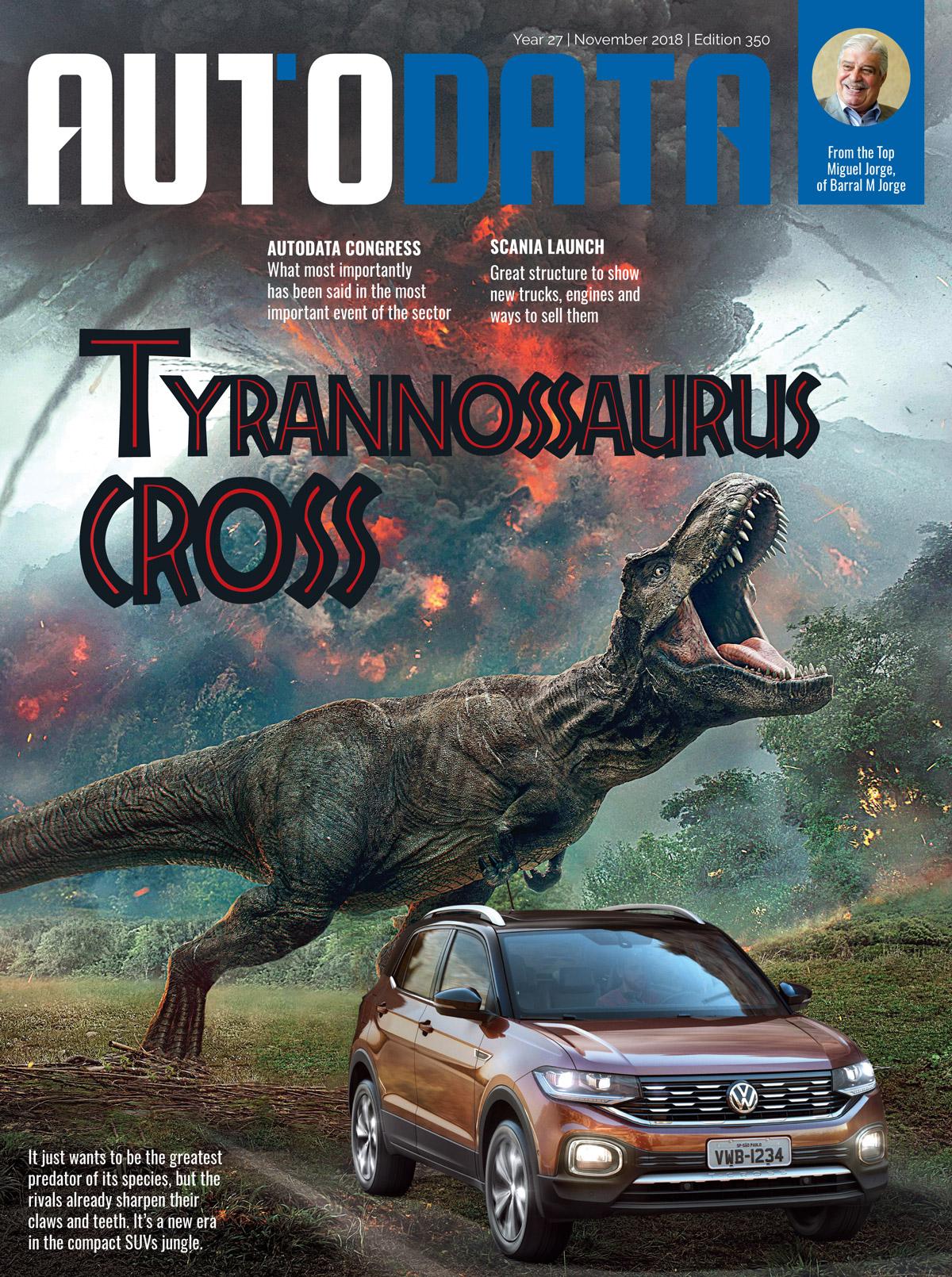 Capa revista AutoData Magazine 350